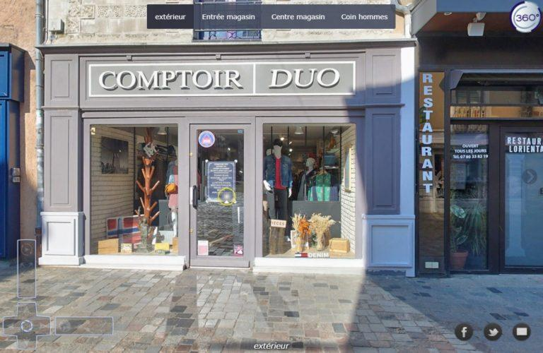 Read more about the article Visite virtuelle Comptoir DUO