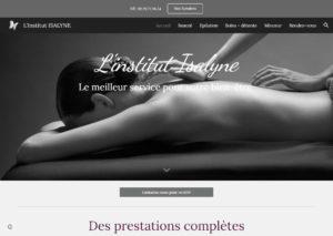 site internet pour institut de beauté
