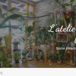 Site Internet pour magasin de fleurs