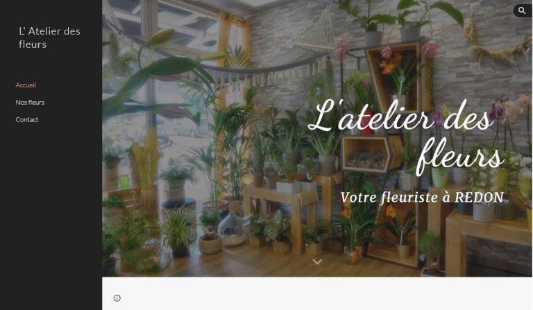 Read more about the article Site Internet pour magasin de fleurs